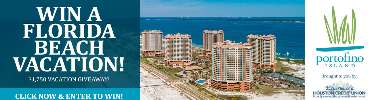Win a Florida Beach Vacation! Click now and enter to win.